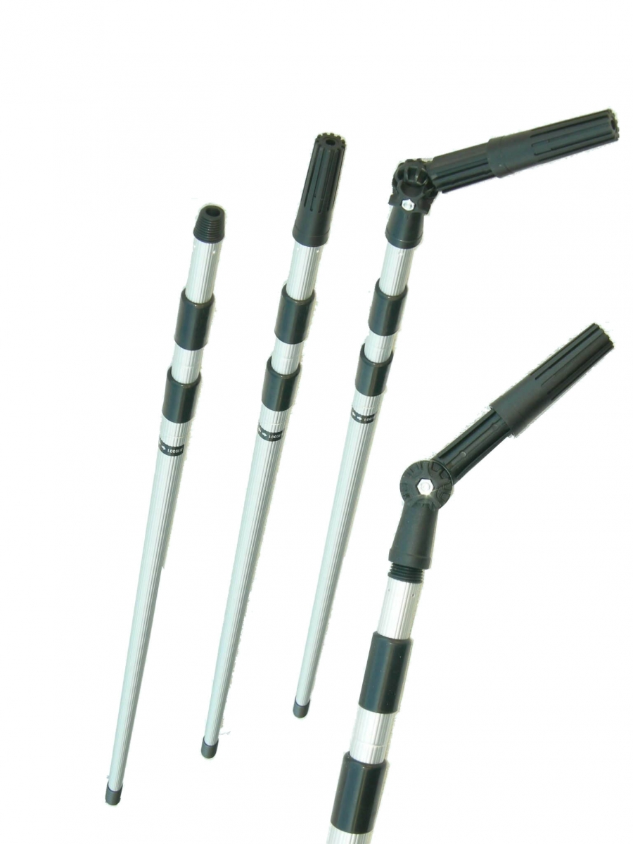 Distributor of aluminium water fed telescopic poles | bhobo