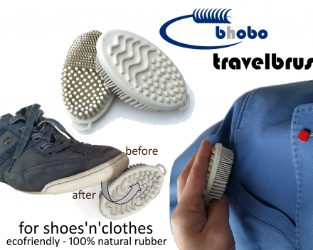 rubber travelbrush