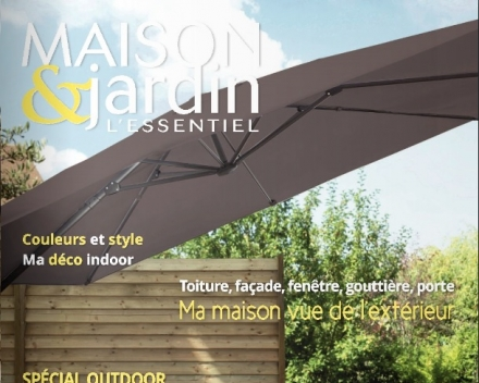 Maison&jardin -a French lifestyle magazine- highlights the importance of bhobo gutterbrushes in their latest edition