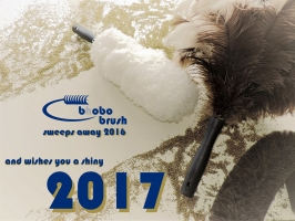 bhobo brush wishes you a shiny 2017