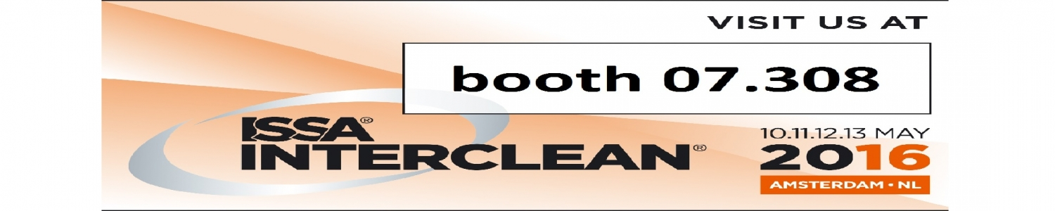 visit us at interclean 2016