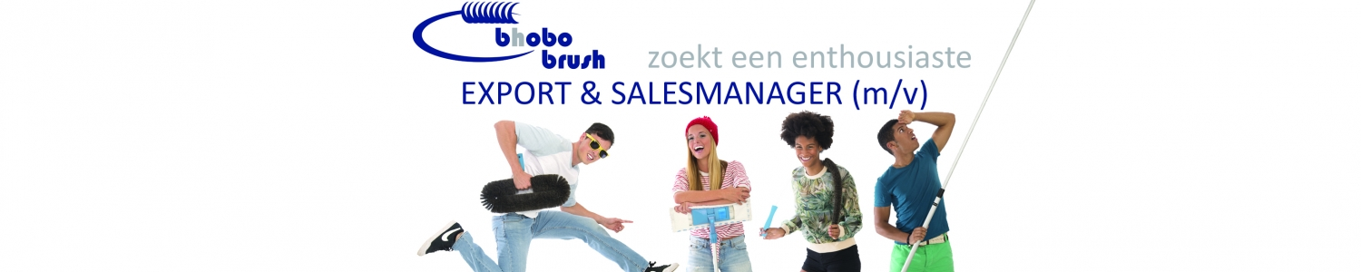 vacature salesmanager bhobo brush